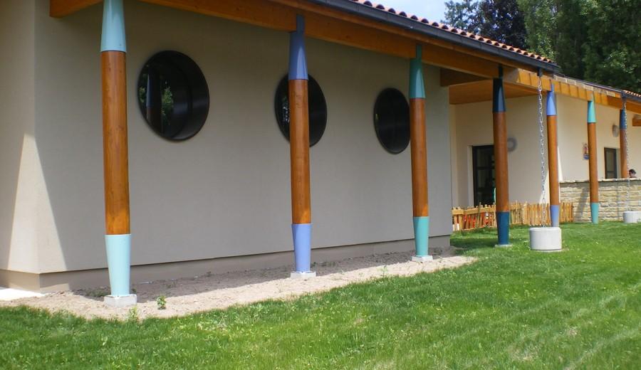 CONSTRUCTION D'UN POLE MULTI ACCUEIL CHARLIEU (42)