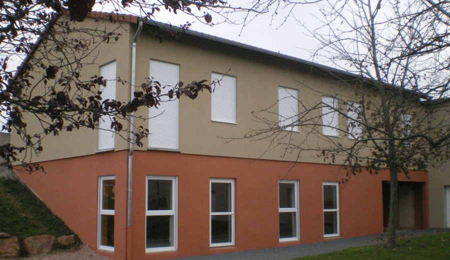 EXTENSION DE L'ECOLE PUBLIQUE PRADINES (42)